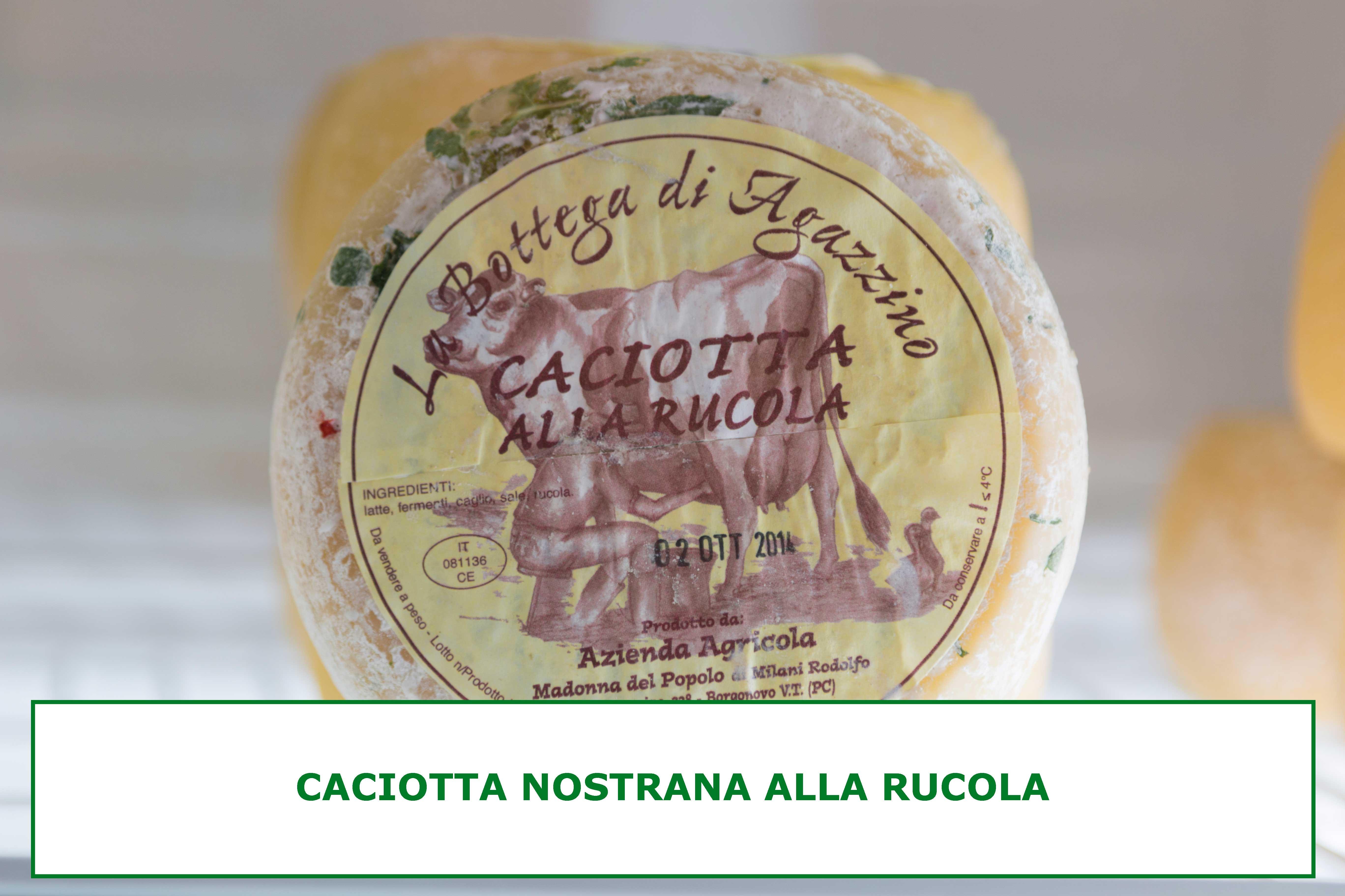 CACIOTTA-RUCOLA